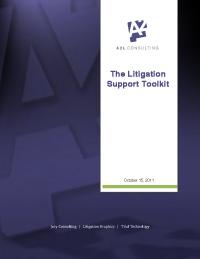 litigation support ebook