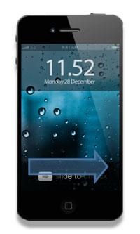 apple iphone slide to unlock patent