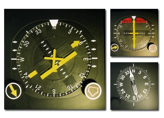 flight instruments scale model demonstrative evidence