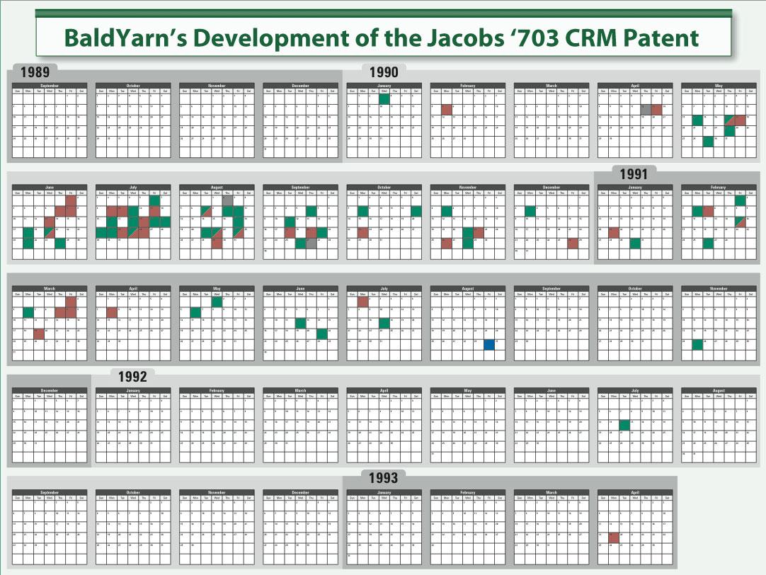 legal graphics patent invention calendar