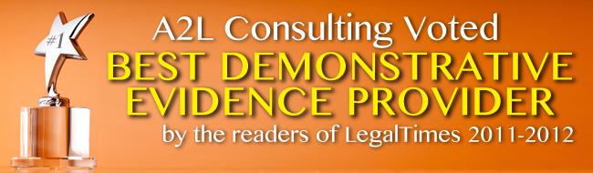 best demonstrative evidence trial presentation provider
