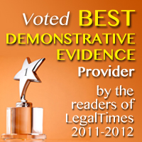 voted best demonstrative evidence provider