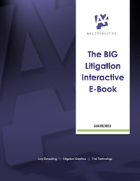Big Litigation Interactive ebook A2L