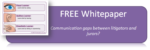Download free white paper on litigator-juries communications