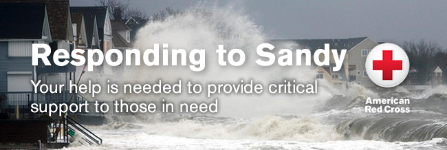 trial graphics consultants support Sandy red cross relief