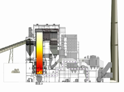 Court Graphics Power Plant Litigation Animation