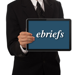 ebriefs e-briefs electronic briefs
