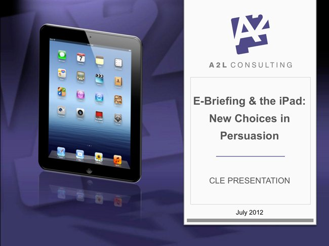Hyperlinking Briefs ipad ebriefs 1