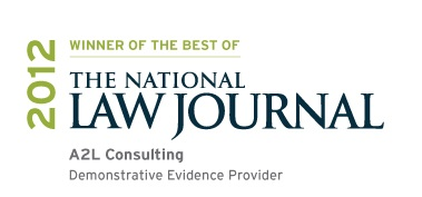 Best demonstrative evidence firm NLJ trial graphics