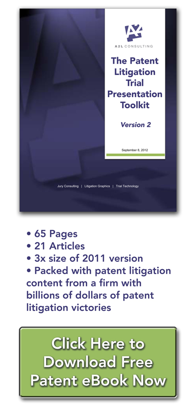 patent litigation graphics trial presentation ebook a2l consulting all new version 2