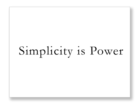 simplicity is power a2l litigation consultants