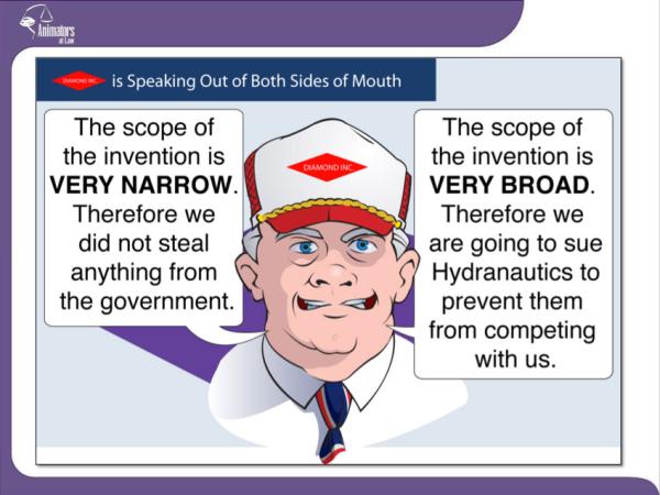 Information design speaking both sides of mouth