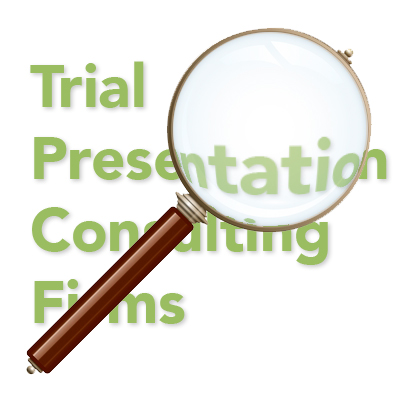 trial presentation consulting services firm consultants