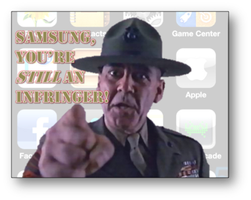 samsung apple infringement iphone trial litigation consulting