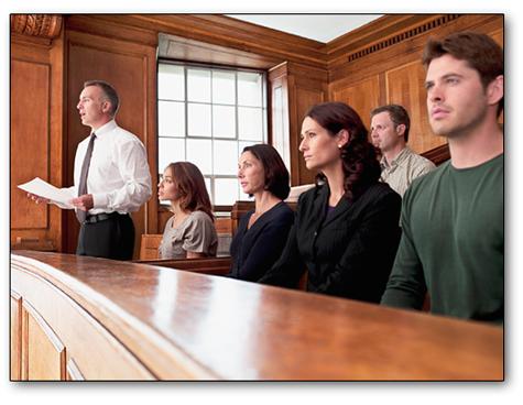 spot jury foreman leader identify consultants
