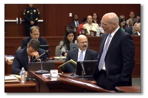 humor litigation trial george zimmerman knock knock