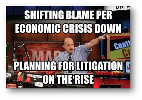 economic crisis bank failure litigation