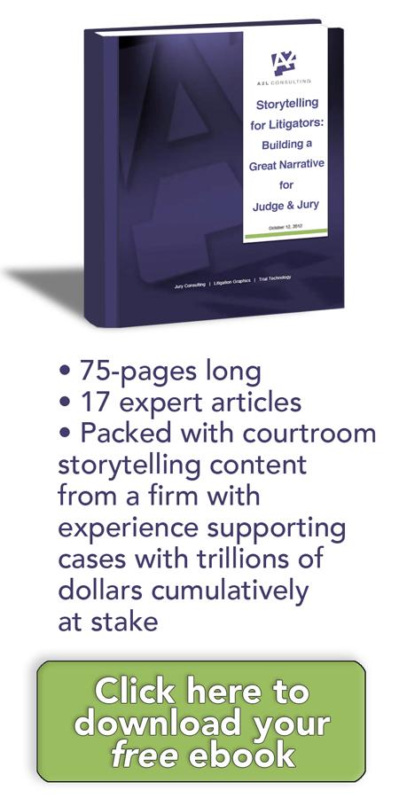 storytelling for lawyers litigators litigation support courtroom narrative