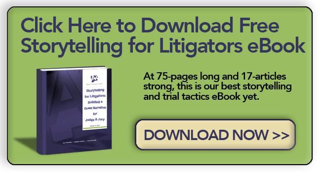 storytelling for lawyers litigators and litigation support courtroom narrative