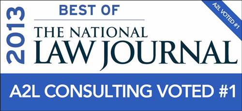 a2l consulting voted best demonstrative evidence consultants best of nlj 2013