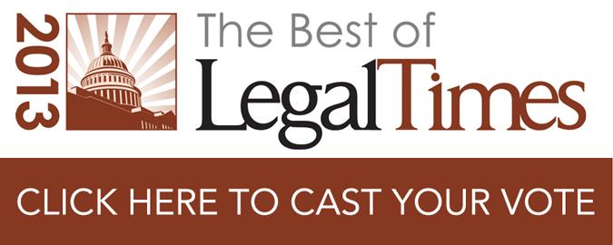 vote best of legal times survey 2013