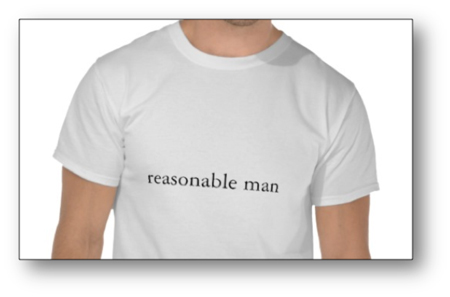 reasonable man standard
