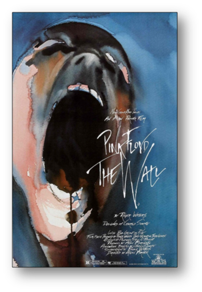 pink floyd the wall color meaning