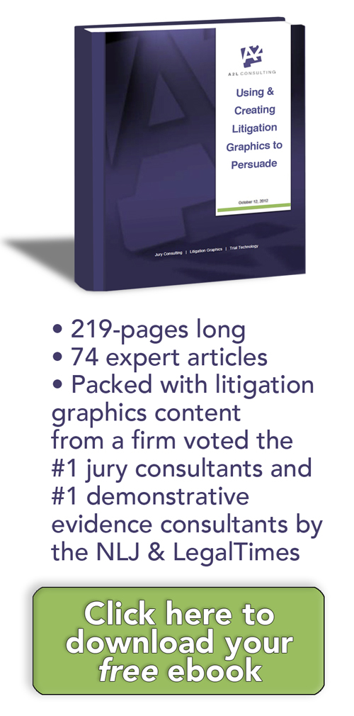 litigation graphics trial graphics persuasion ebook a2l consulting