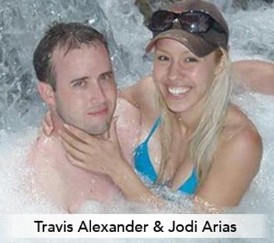 jodi arias choke hold travis alexander