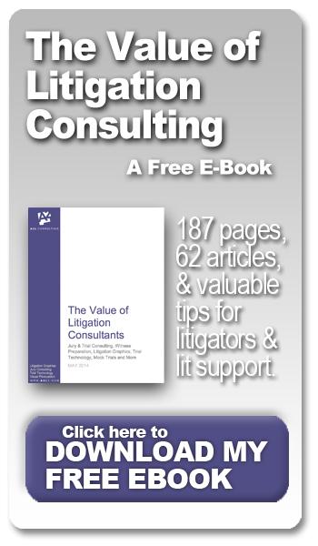 value of litigation consulting ebook a2l