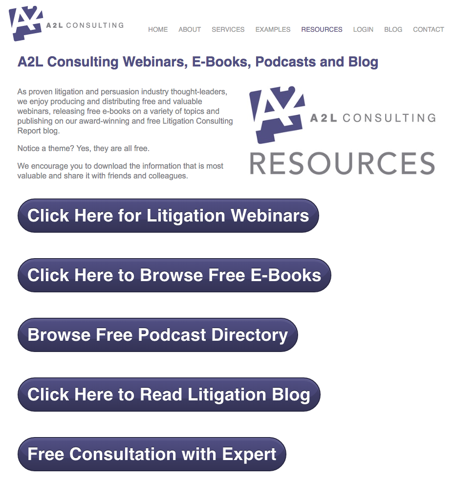 free litigation ebooks for trial lawyers
