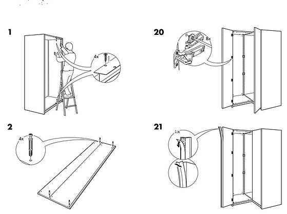 3 Ways Litigation Graphics and IKEA Assembly Instructions