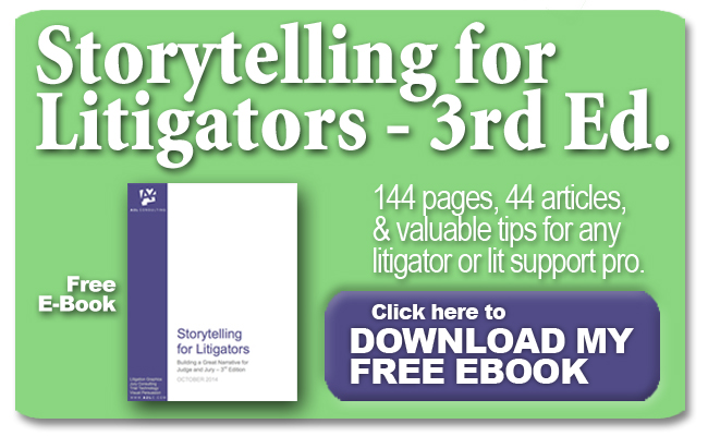A2L Consulting's Storytelling for Litigators 3rd Ed E-book